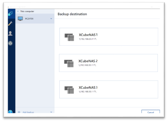 acronis backup xreplicator 2
