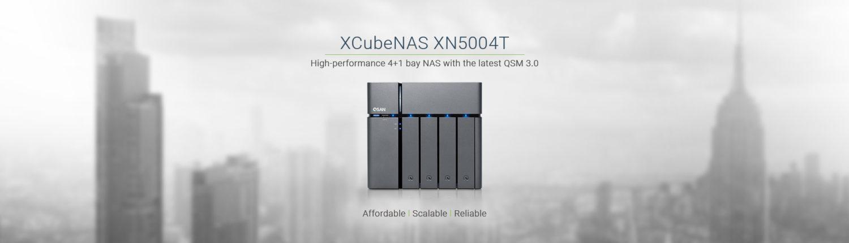 Banner XCubeNAS XN5004T